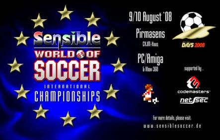 Sensible World of Soccer International Championships