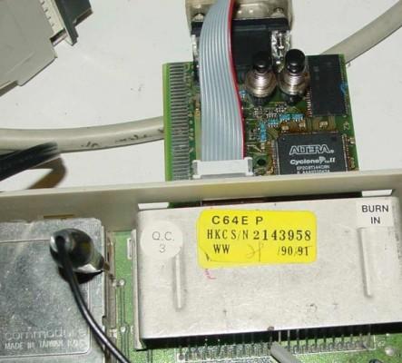 FPGA-C64-Karte