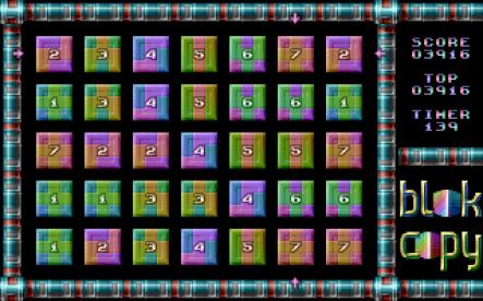 Blok Copy für C64 DTV