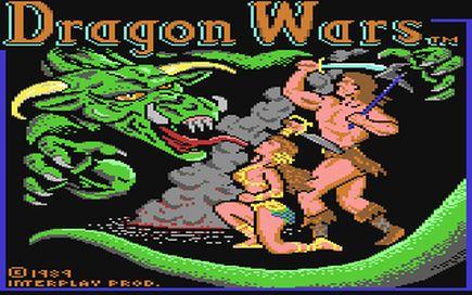 DragonWars Titelbildschirm