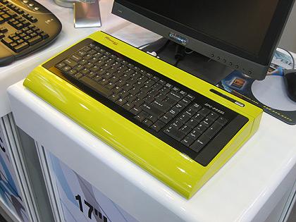 Tastaturrechner auf der CeBit 2007