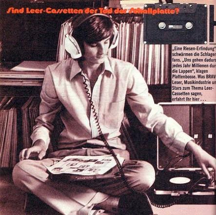 Sind Leer-Cassetten der Tod der Schallplatte?