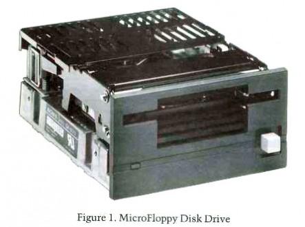 Sony MocroFloppy Disk Drive