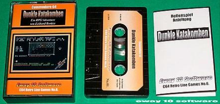 Dunkle Katakomben – Tape, Cover und Anleitung
