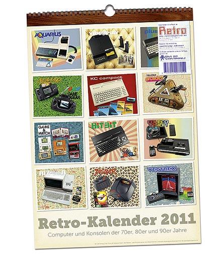 Retro-Kalender 2011 – Deckblatt
