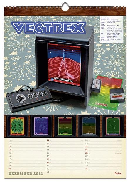 Retro-Kalender Dezember 2011 – MB Vectrex