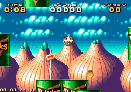 """Pringles Game"" für Segas Mega Drive"