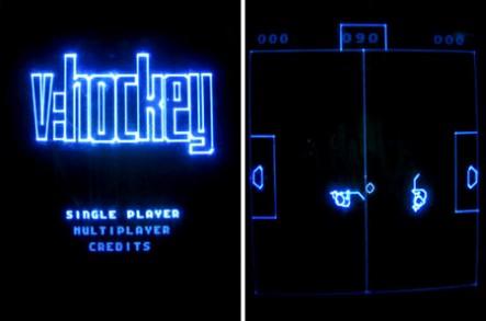 V-Hockey für die Vectrex