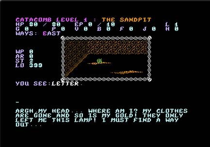 """""""Dark Catacombs"""" Ingame Screenshot"""