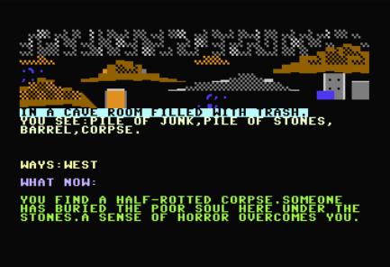 """The Cave"" - Ingame Screenshot"