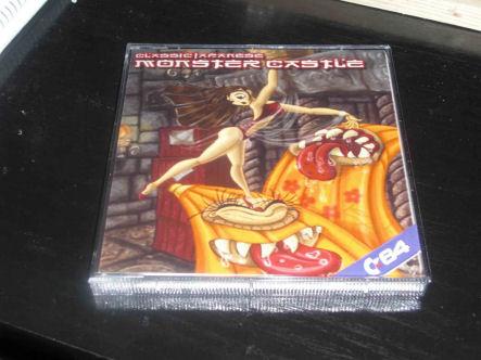 Verkaufsverpackung von Nanako in Classic Japanese Monster Castle