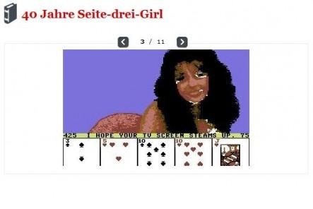 40 Jahre Seite-3-Girl