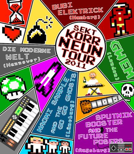 Sekt Korr-Neun Tour 2011