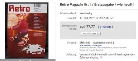 77,77 Euro für die Erstausgabe