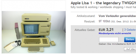 Auktion: Apple Lisa 2