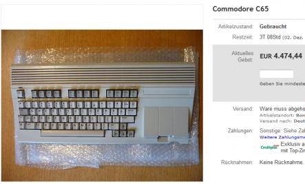 C65 bei eBay