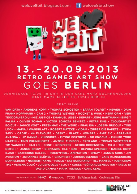 Retro Games Art Show (Plakat)