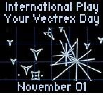 International Play-Your-Vectrex Day