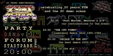 20 yrs PTM