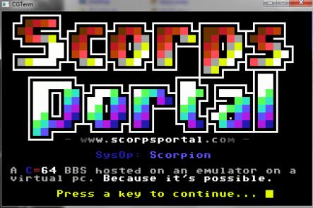 Scorps Portal Screenshot