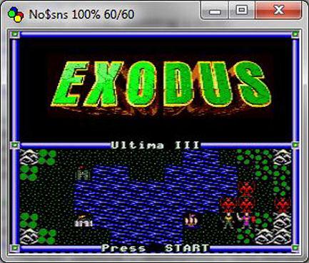 Ultima III: Exodus (SNES)