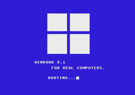 Windows 8.1 für C64