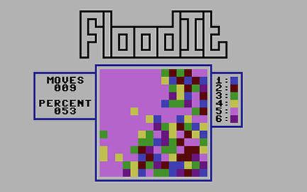 FloodIt für Plus/4