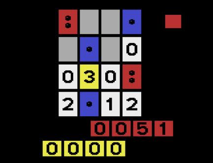 Three.s - Atari VCS Spiel