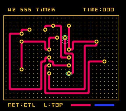 PCB Artist - NES Spiel