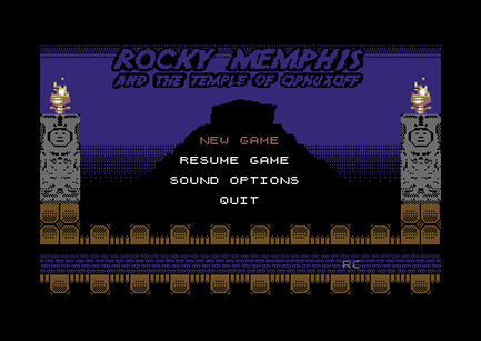 Rocky Memphis and the Temple of Ophuxoff