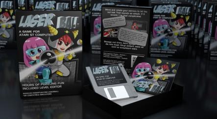 Laserball (2015) für Atari ST