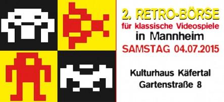 2. Retro-Börse für klassische Videospiele Mannheim
