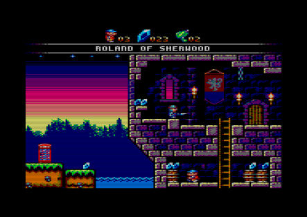 Roland of Sherwood (Amstrad CPC)