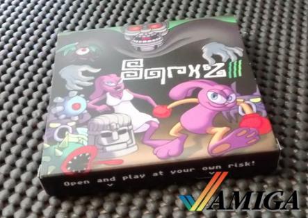 Sqrxz 3 Amiga OCS Verpackung