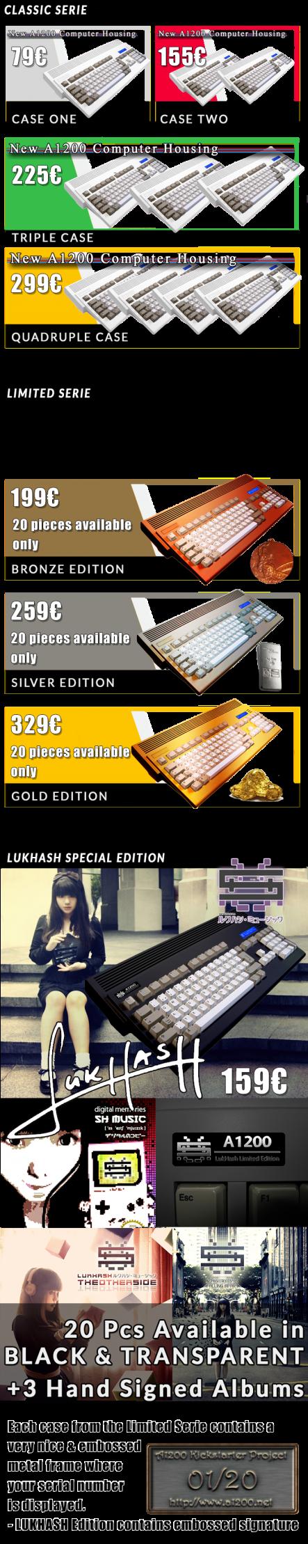 Amiga 1200 Gehäuse