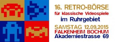 16. Retrobörse für klassische Videospiele im Ruhrgebiet