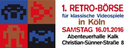 1. Retrobörse für klassische Videospiele in Köln