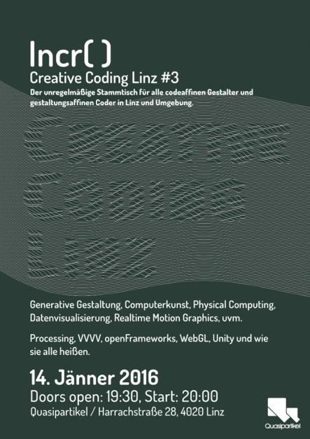 Creative Coding Linz #3