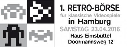 1. Retrobörse für klassische Videospiele in Hamburg