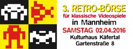 3. Retrobörse für klassische Videospiele in Mannheim