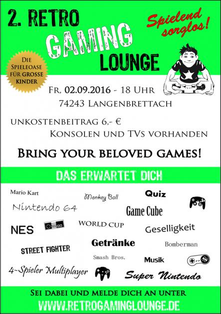 2. Retro Gaming Lounge
