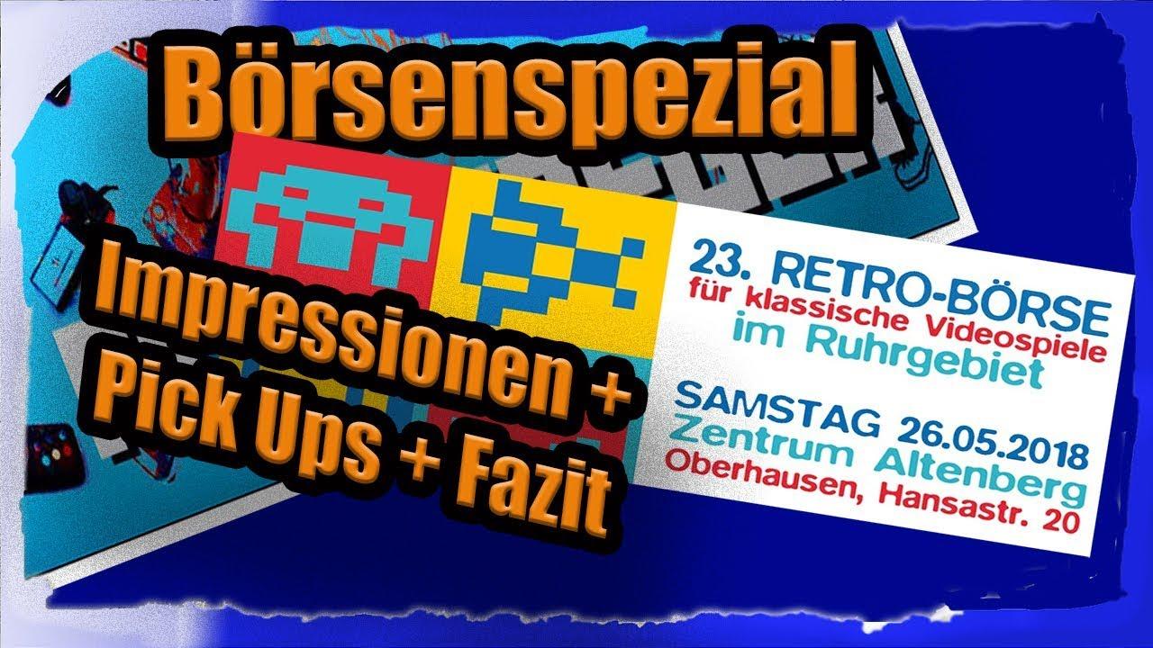 Video Retrobörse Oberhausen 26052018 Impressionen Pick Ups